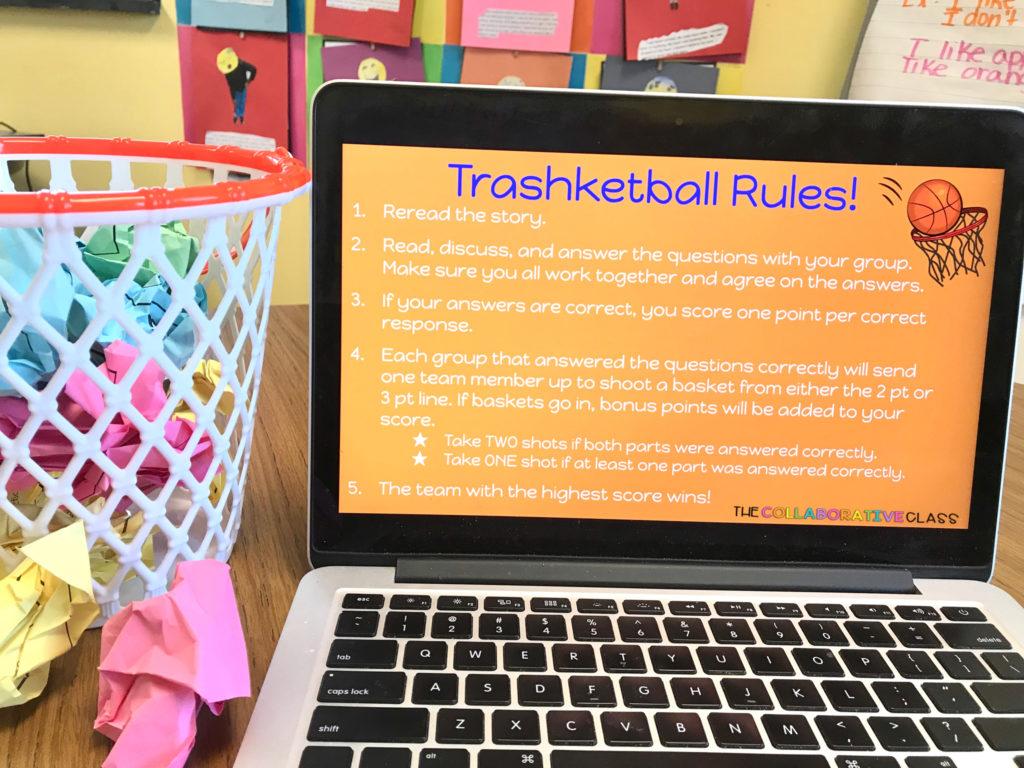 trashketball classroom game