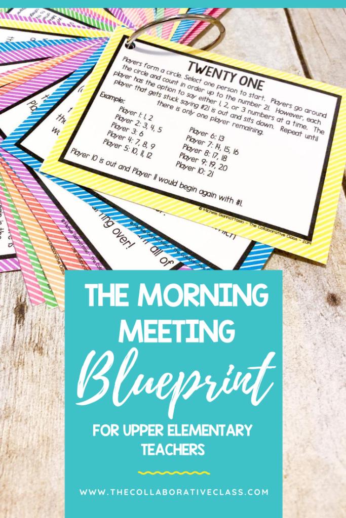 morning meeting upper elementary