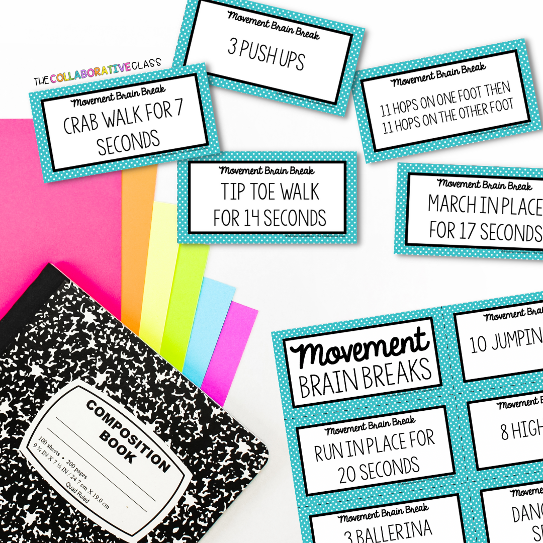 make test prep fun with these movement brain breaks