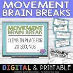 movement brain breaks resource