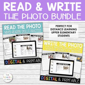 Read & Write the Photo Distance Learning Google Apps Activities